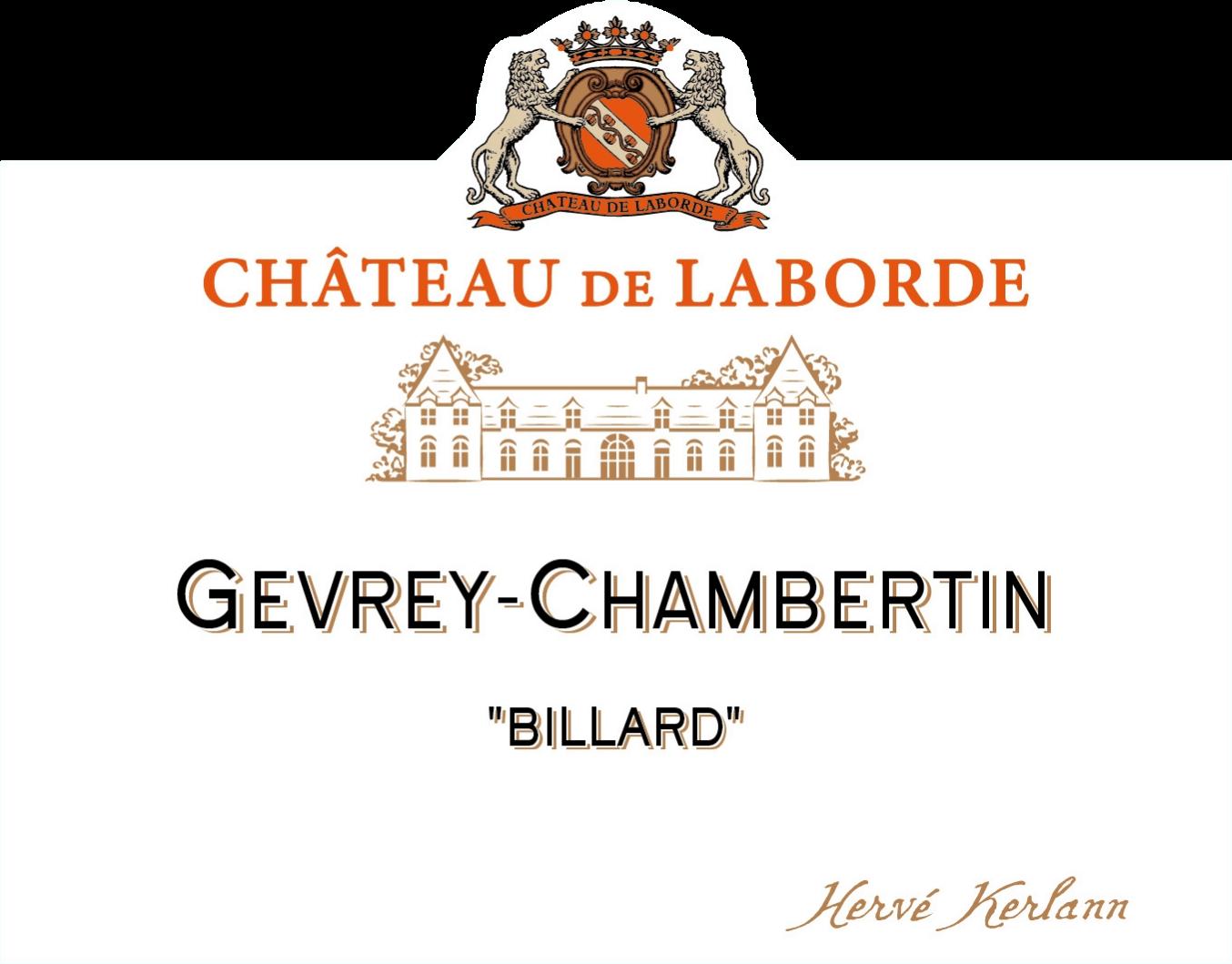 Gevrey Chambertin Billard - Chateau de Laborde NV